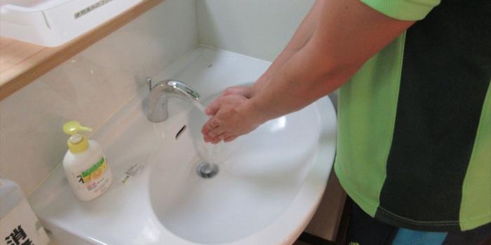 ご家族・ケアマネージャー様へ【正しい手洗いについて】