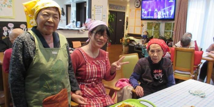 ご家族様・ケアマネージャー様へ【調理レク:かぼちゃフレンチトースト】