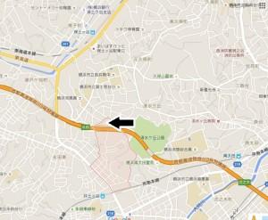 南太田map